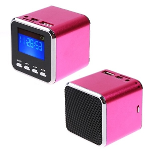 Mini speaker with Alarm